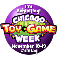 I'm Exhibiting at Chicago Toy and Game (ChiTAG) Week this November!