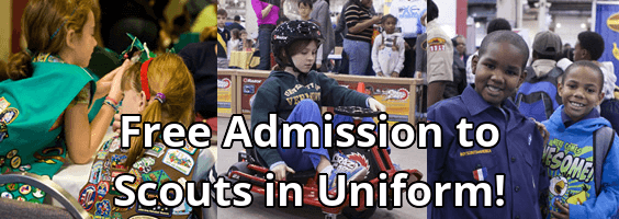 Free Admission for Scouts at ChiTAG Fair
